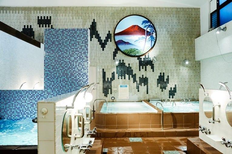 浴場の景色