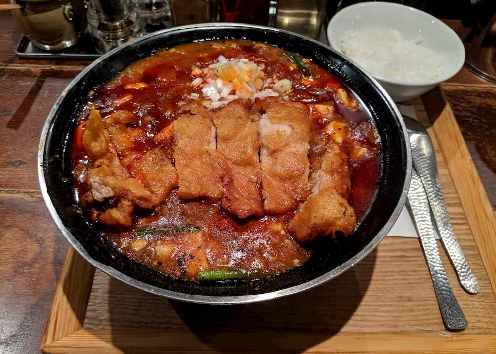 三宝亭の全とろ麻婆麺