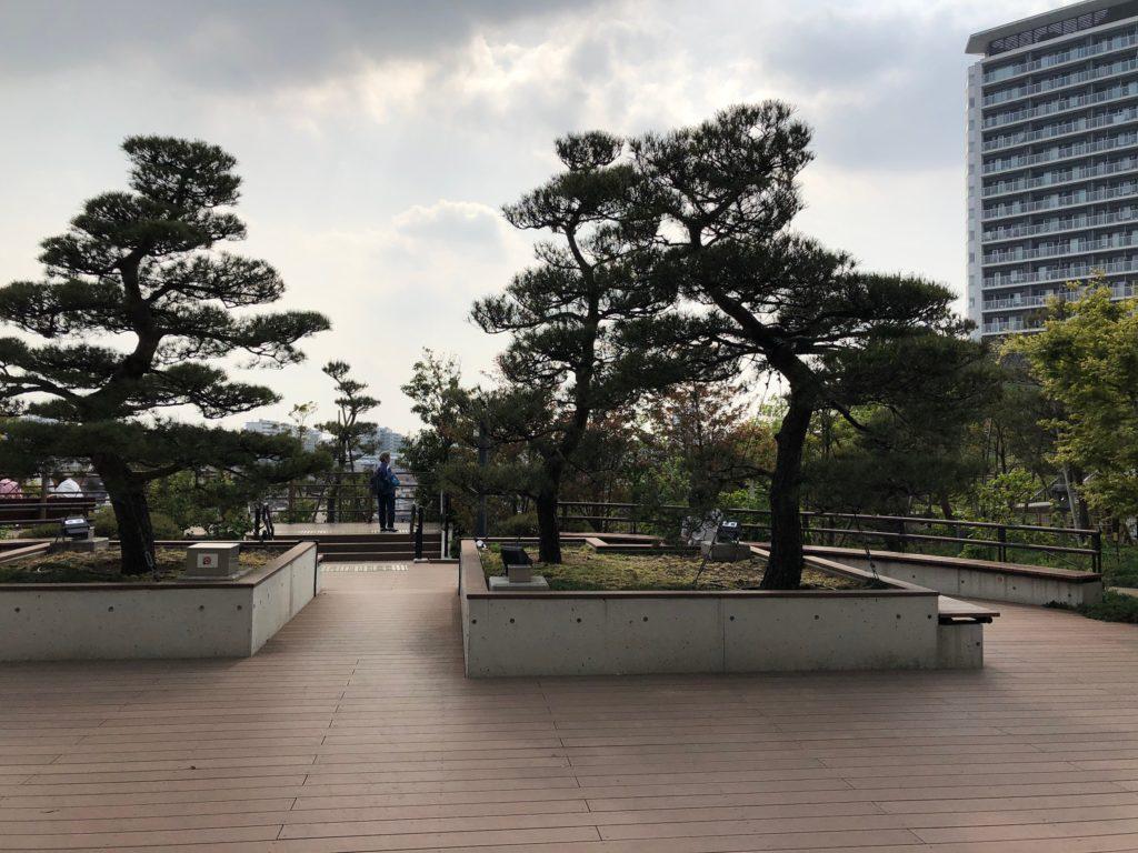 目黒天空庭園の頂上