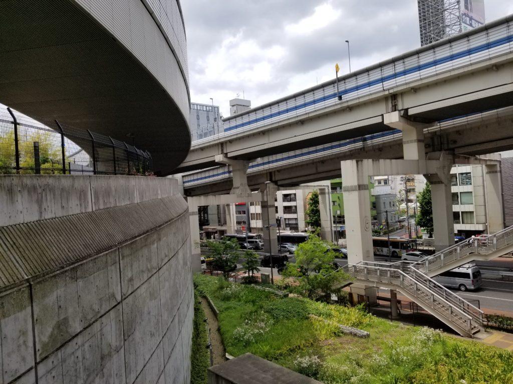 大橋ジャンクションと246