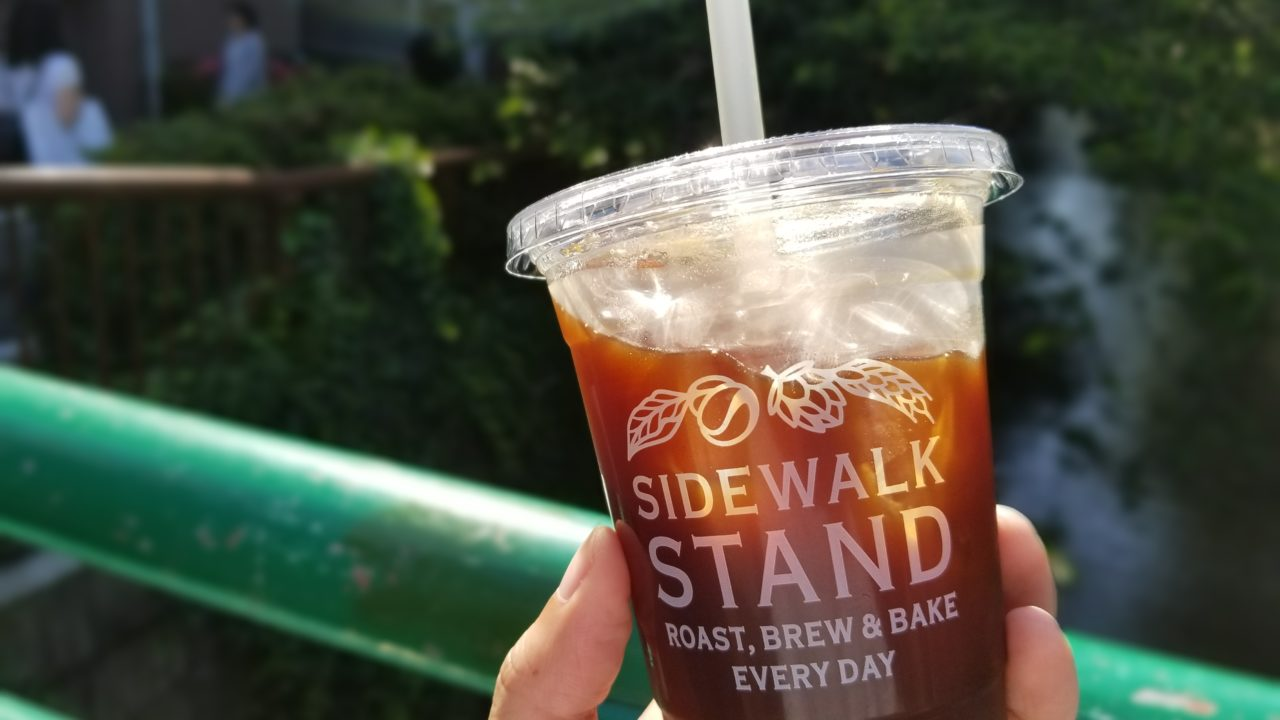 SIDEWALK STANDのコーヒー