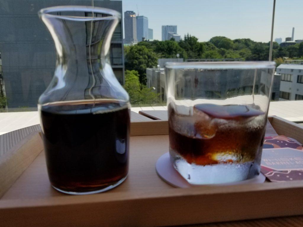 STARBUCKS RESERVE ROASTERY TOKYOのバレルエイジドコーヒー