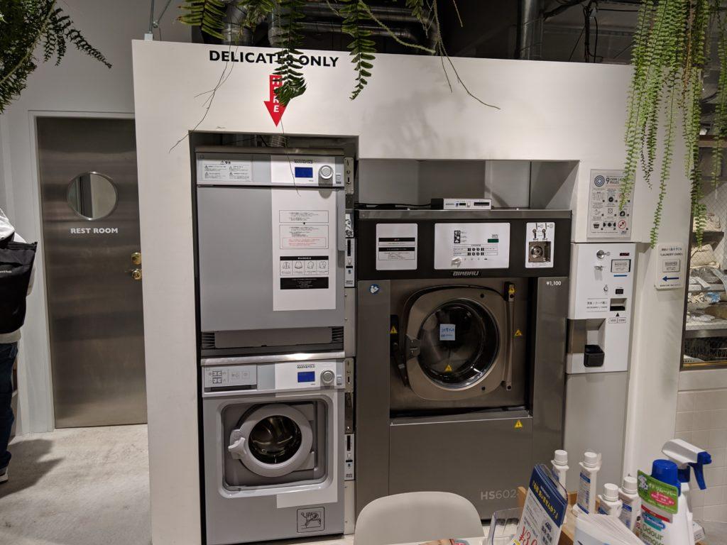 おしゃれ着用の洗濯機