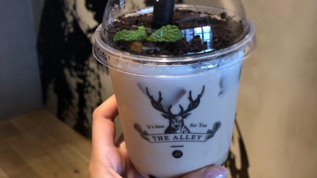 THE ALLEYの盆栽タピオカミルクティー