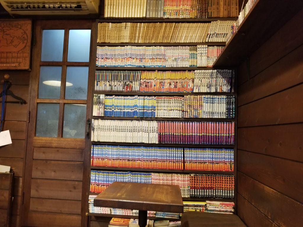 三丁目のコーヒー屋の本棚
