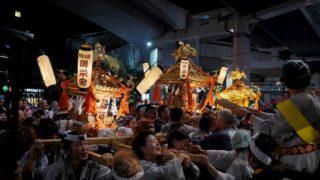 氷川神社例大祭の様子