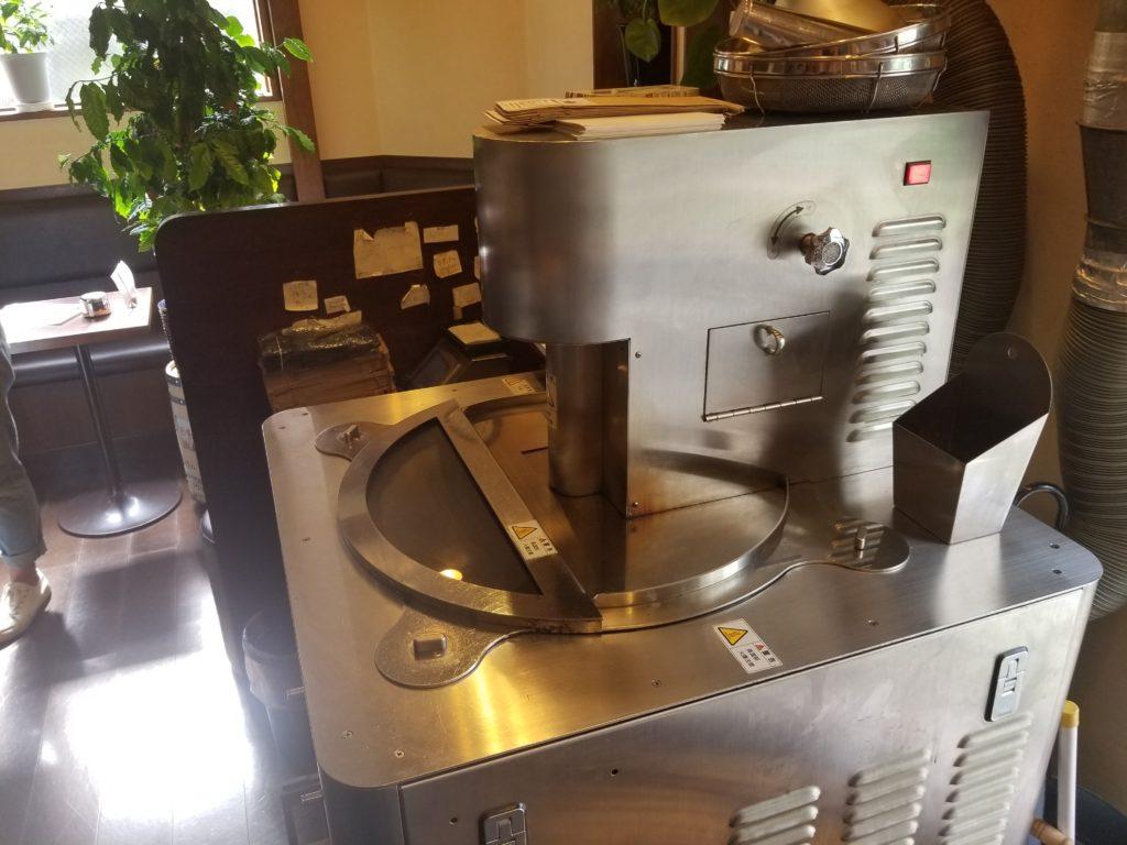 グラーノの高速焙煎機