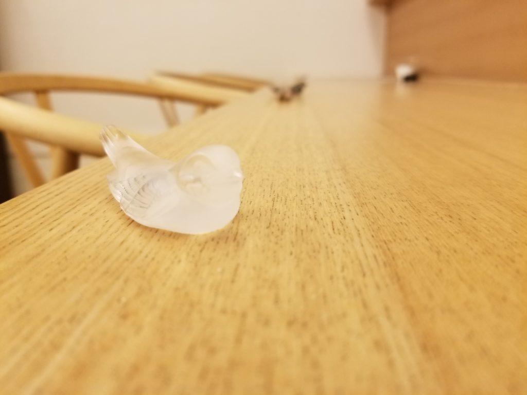 食堂まきのの箸置き