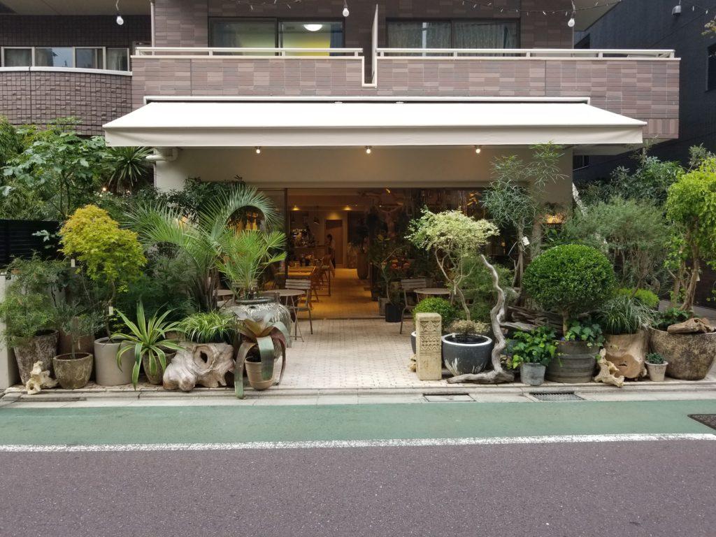 ガーデンの外観