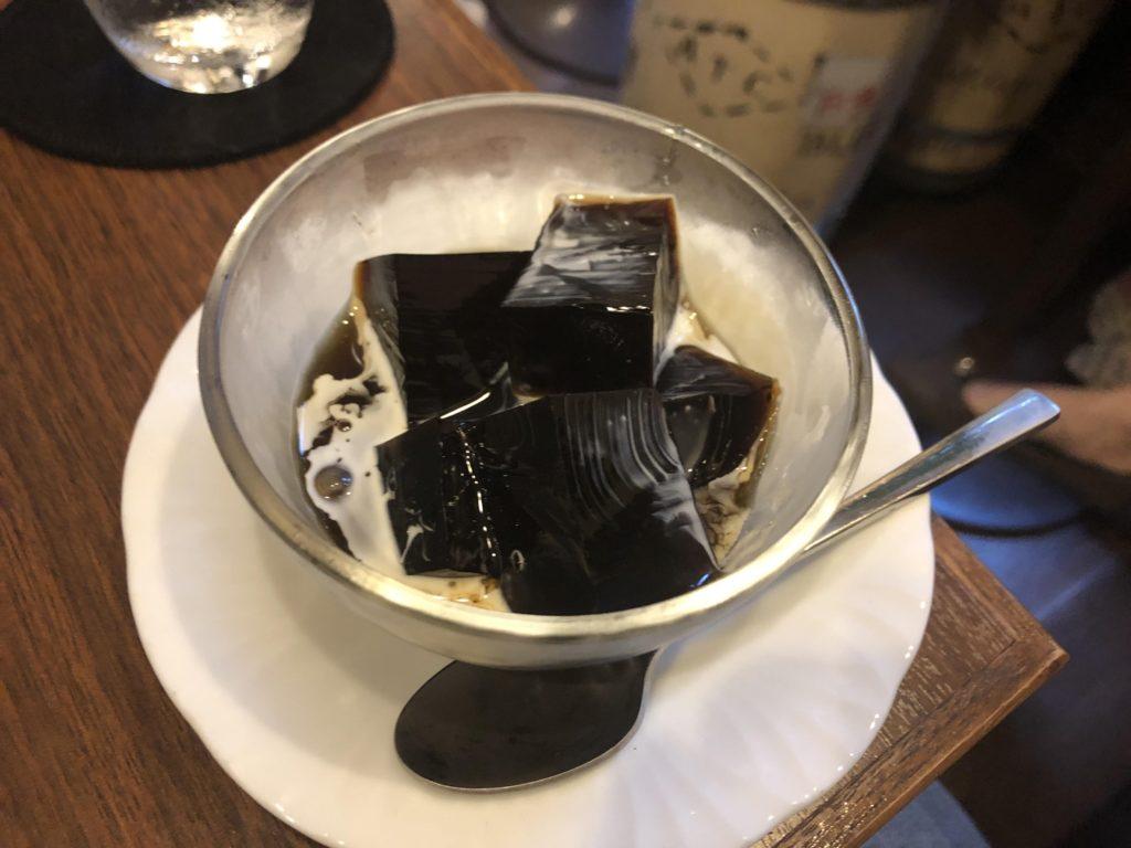 グラーノのコーヒーゼリー