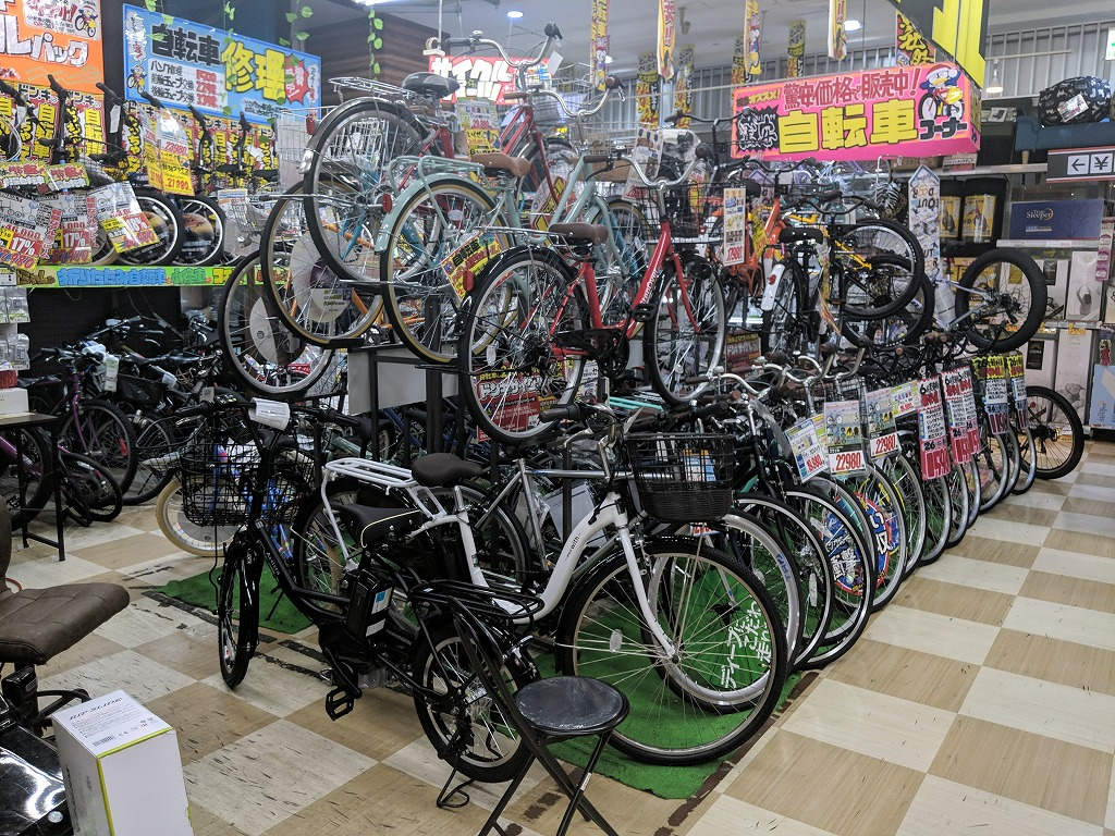 ドンキホーテ中目黒の自転車
