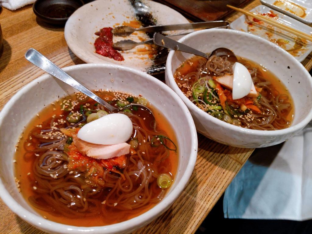 三百屋の冷麺