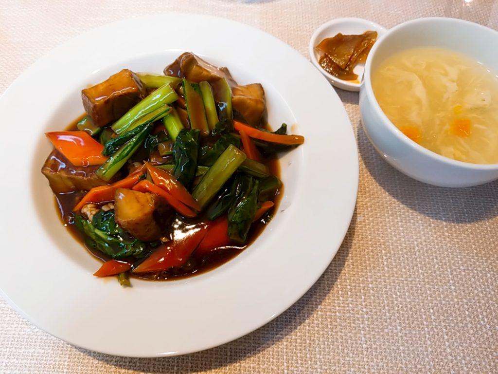 香約の豚肉角煮のかけご飯