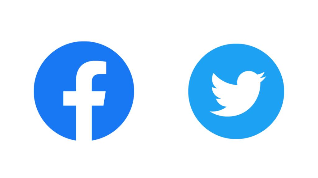 フェイスブックとツイッター