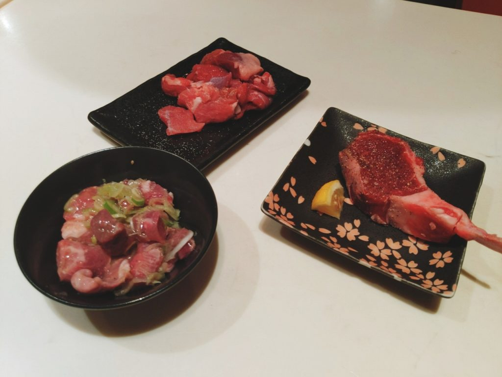 中目黒ひつじの肉