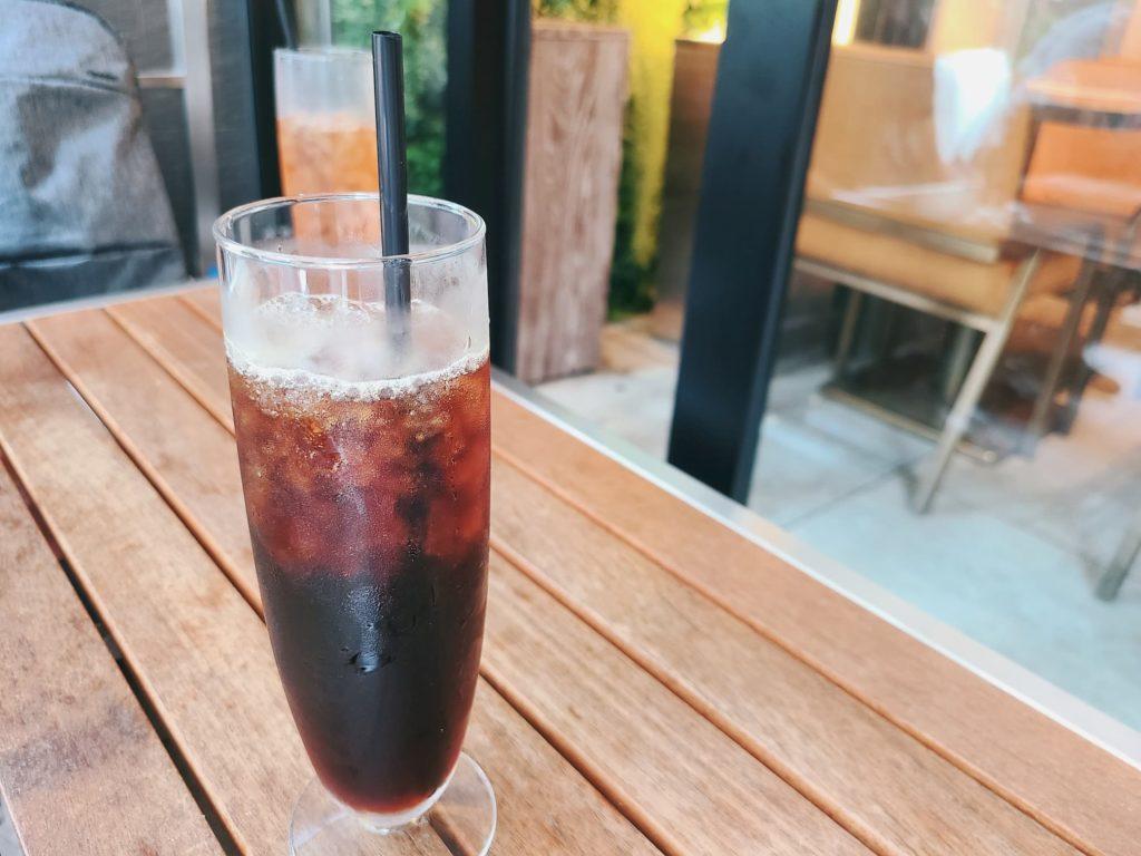 中目黒テラスのアイスコーヒー