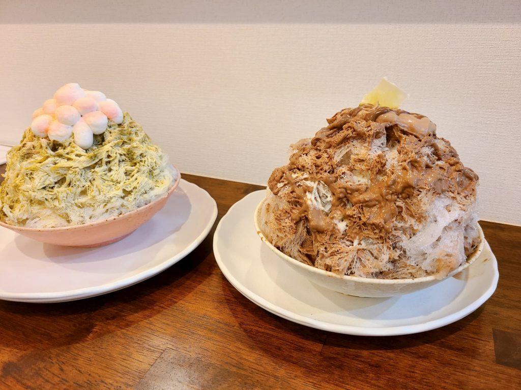 ナナシノ氷菓店のピスタチオとショコラ
