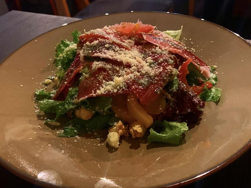 ビストロオーズ_中目黒で「付き合う前、2回目のデート」の最適解_おまかせサラダ