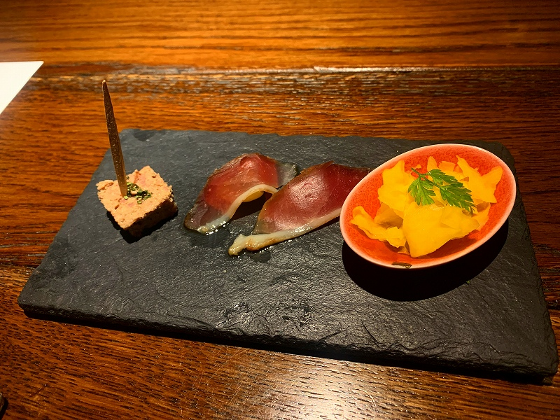 中目黒ダイエット飯ナカモグロ_前菜