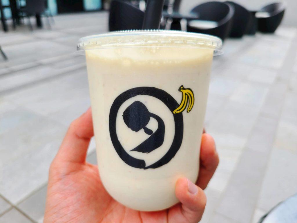 ダカフェのバナナシェイク