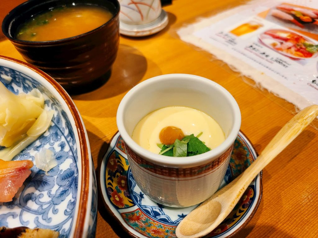 磯松の茶碗蒸し