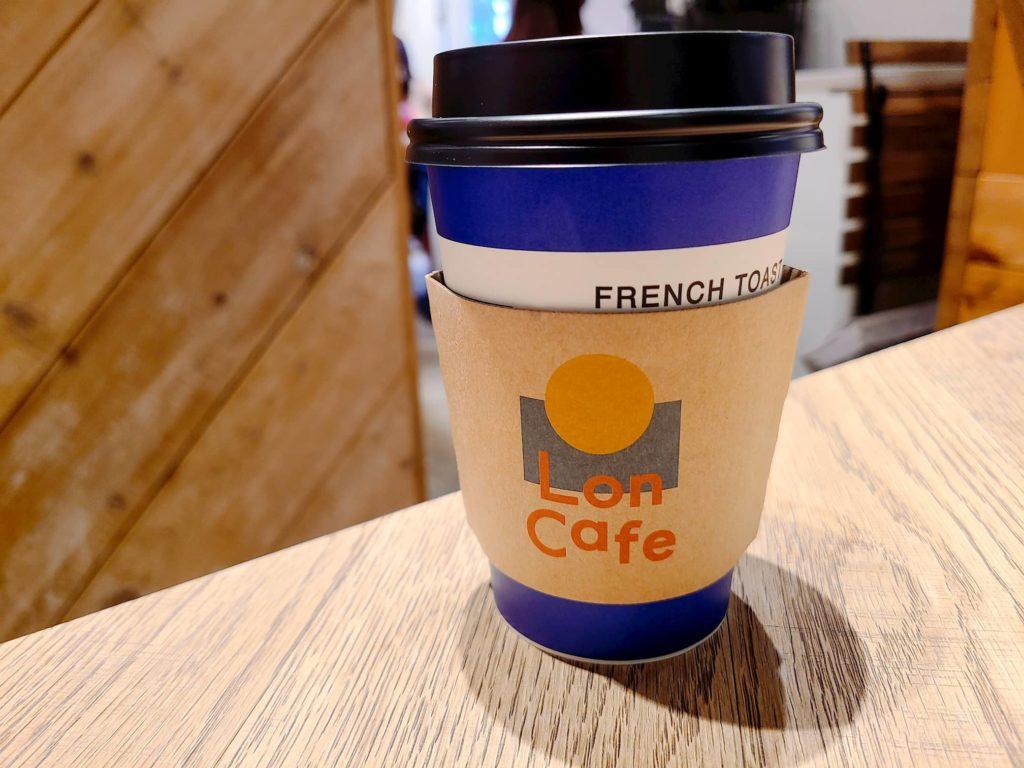 ロンカフェのコーヒー