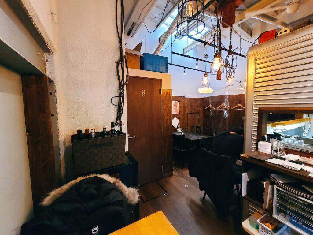 ファイブスターカフェの店内