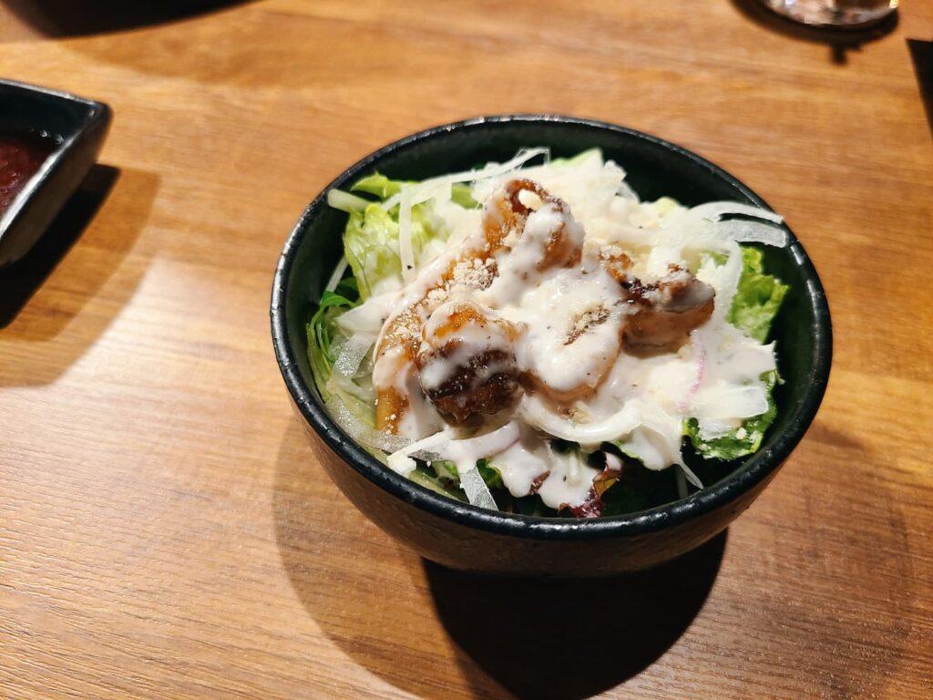 マーク松岡のサラダ